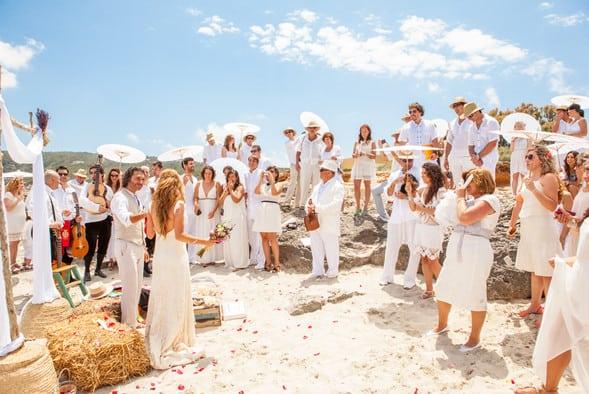 Qué ponerse para una boda de playa