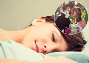 soñar con tu boda