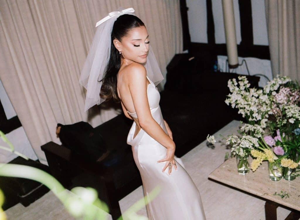 Vestido de boda Ariana Grande