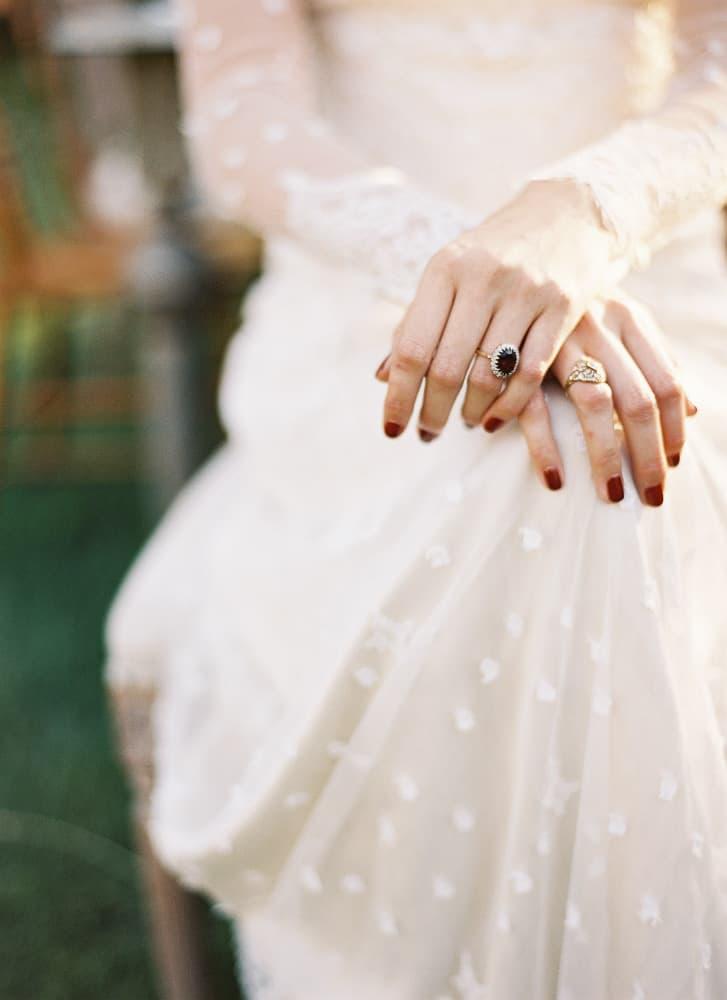 mejores manicuras novia