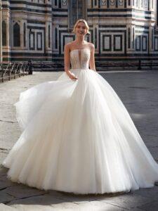 ¿Qué vestido de novia te favorece según tu cuerpo?